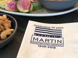 Martin Construction celebrating 70 years