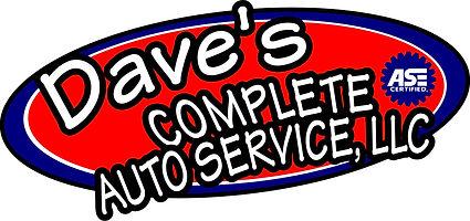 Dave's Complete Auto Service Logo