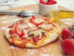 Mini Pizza de Queijo Prato