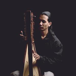 Harpista Hallisson Nogueira