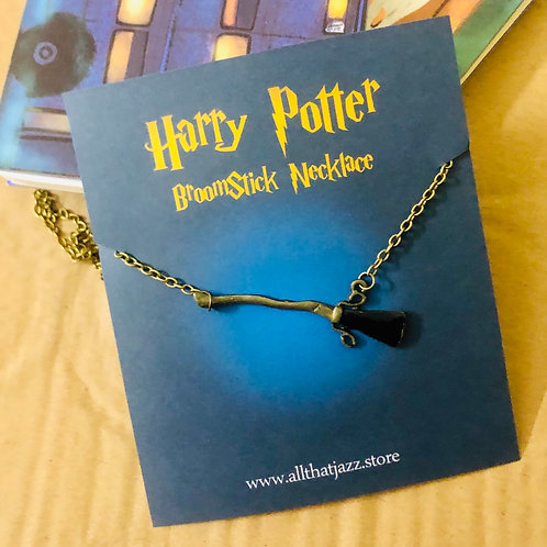 Broomstick necklace