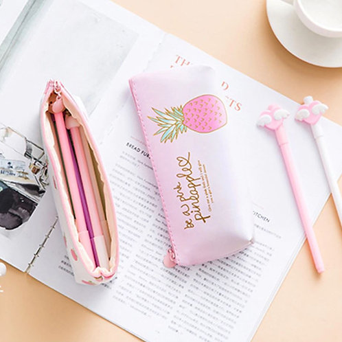 Cute pineapple pencil case