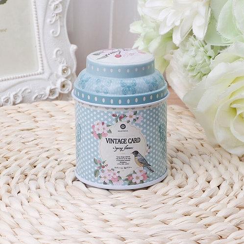 Floral Tin Box R1