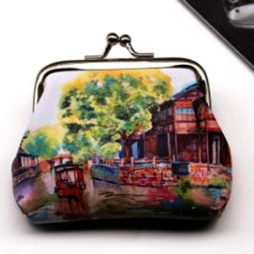 Landscape coin purse