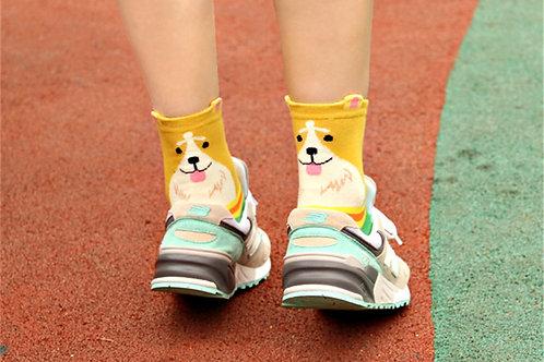 Puppy dog socks