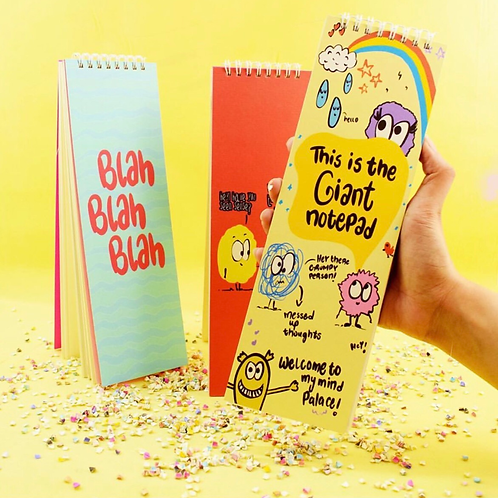 Set of 3 Giant Notepads
