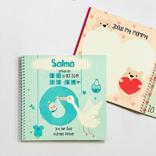 Baby Book Mint
