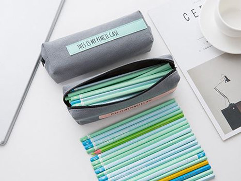 Cute canvas pencil case