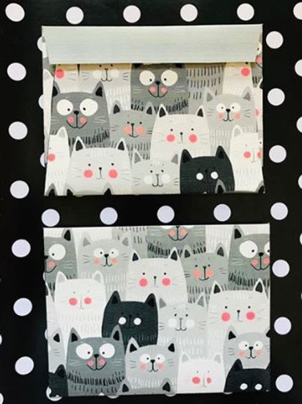 Cute Cat Envelope