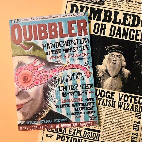 Quibbler Cover Notebook