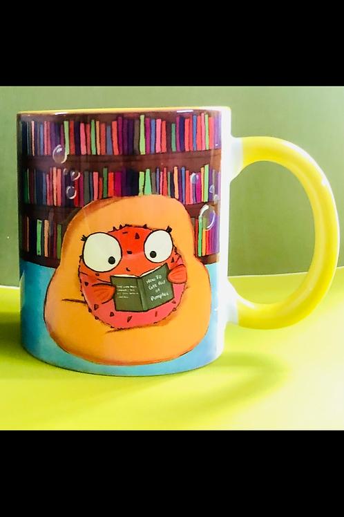 Puffy reading Mug