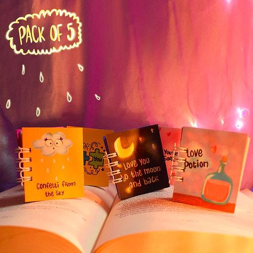 Miniature Notebook Pack Design-1