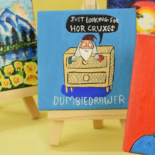 Dumbledore Miniature canvas