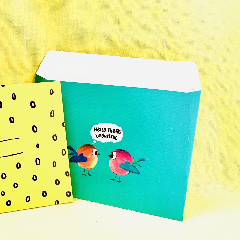 Birds envelope