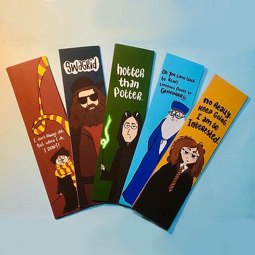 HP bookmark set