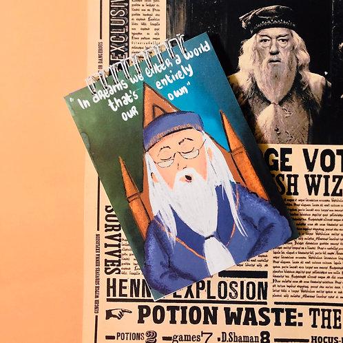 Dumbledore Notepad