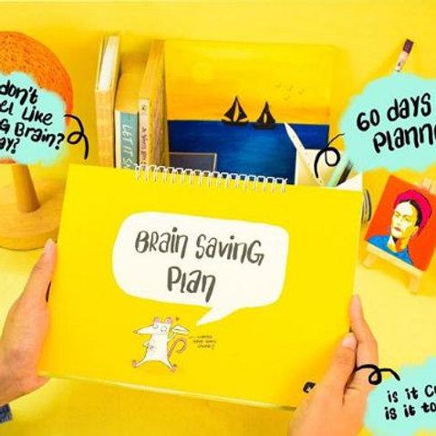Brain Saving 60 days Planner