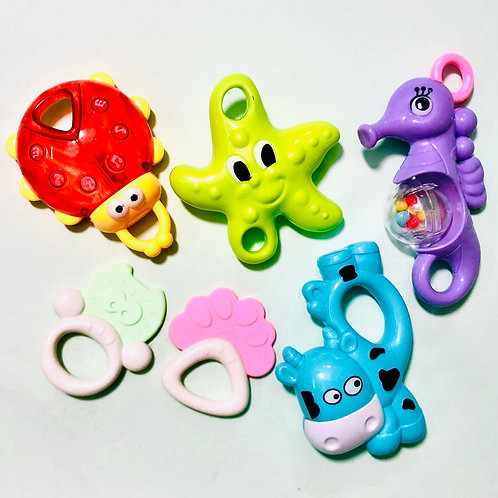 Rattle set(6 pcs)