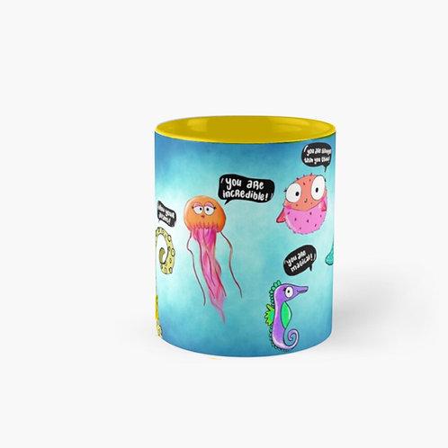 The happy fish Mug