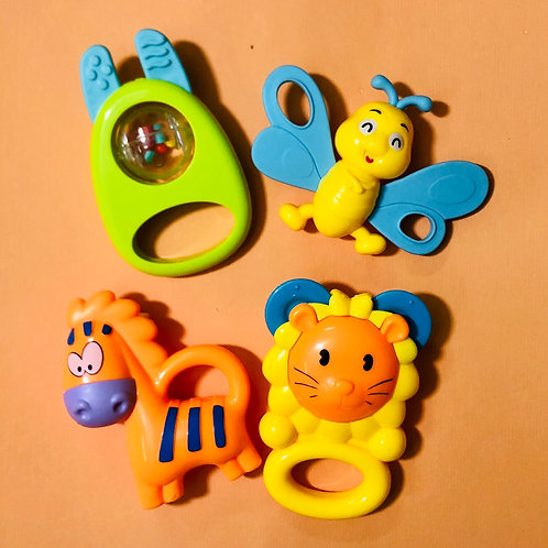 Rattle Set ( 4 pcs)