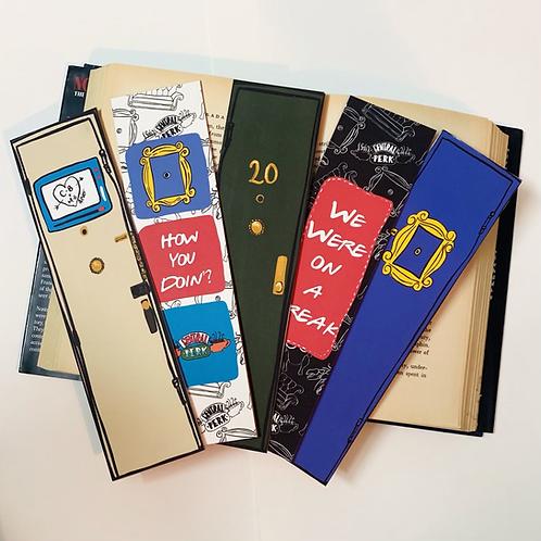 FRIENDS bookmarks set