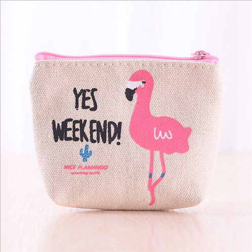 Yes weekend coin pouch