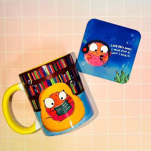 Mug-Teacoaster set