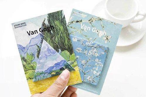 Van Gogh sticky notes