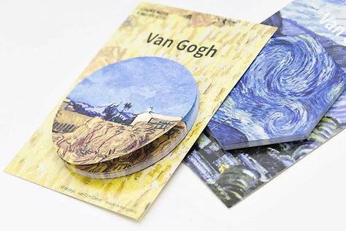 Van Gogh's sticky notes