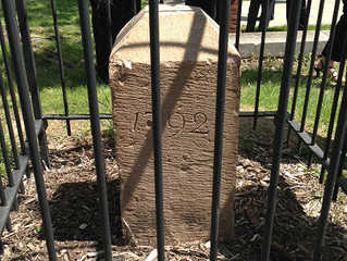 200-year-old boundary markers in D.C. rededicated