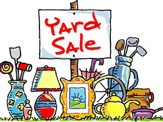 From Trash to Treasure: Yard Sale Fundraiser
