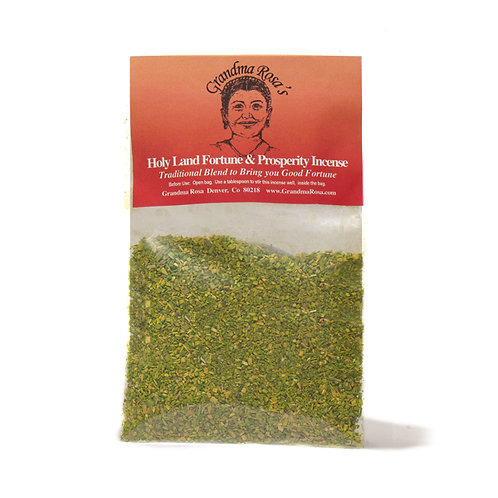 Holy Land Fortune and Prosperity Incense