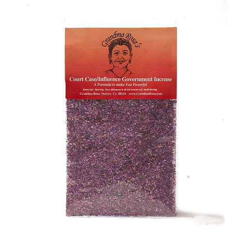 Court Case / Influencing Government Incense