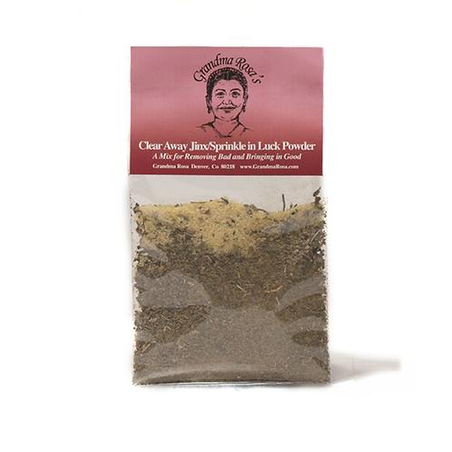 Clear away Jinx / Sprinkle in Luck Powder