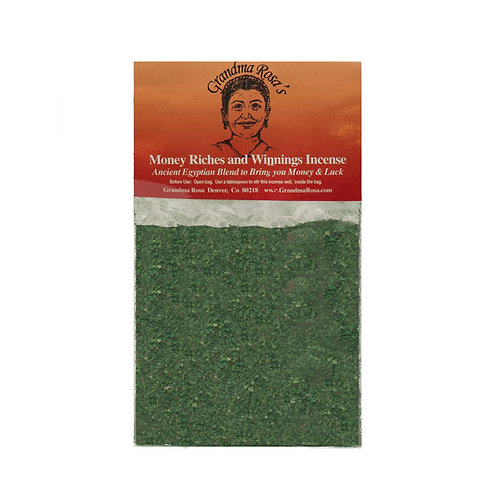 Money, Riches and Winnings Incense
