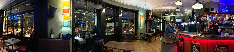 Photo panoramique à l'intérieur du café Ké Pecherie à Lyon