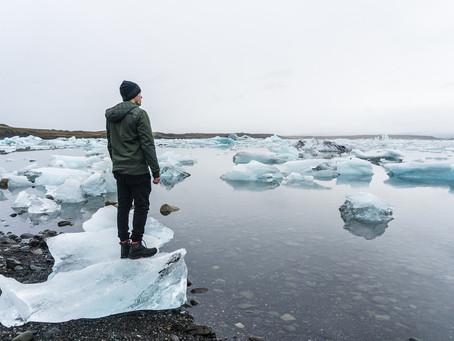 Ice Shards On Crystal Lake