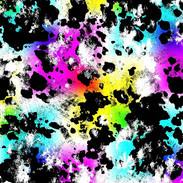 Rainbow Cowprint