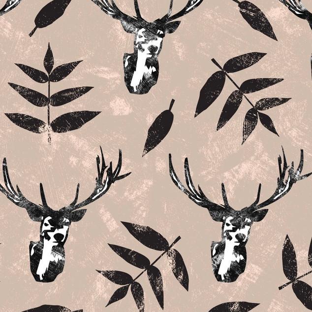 Sketched deer