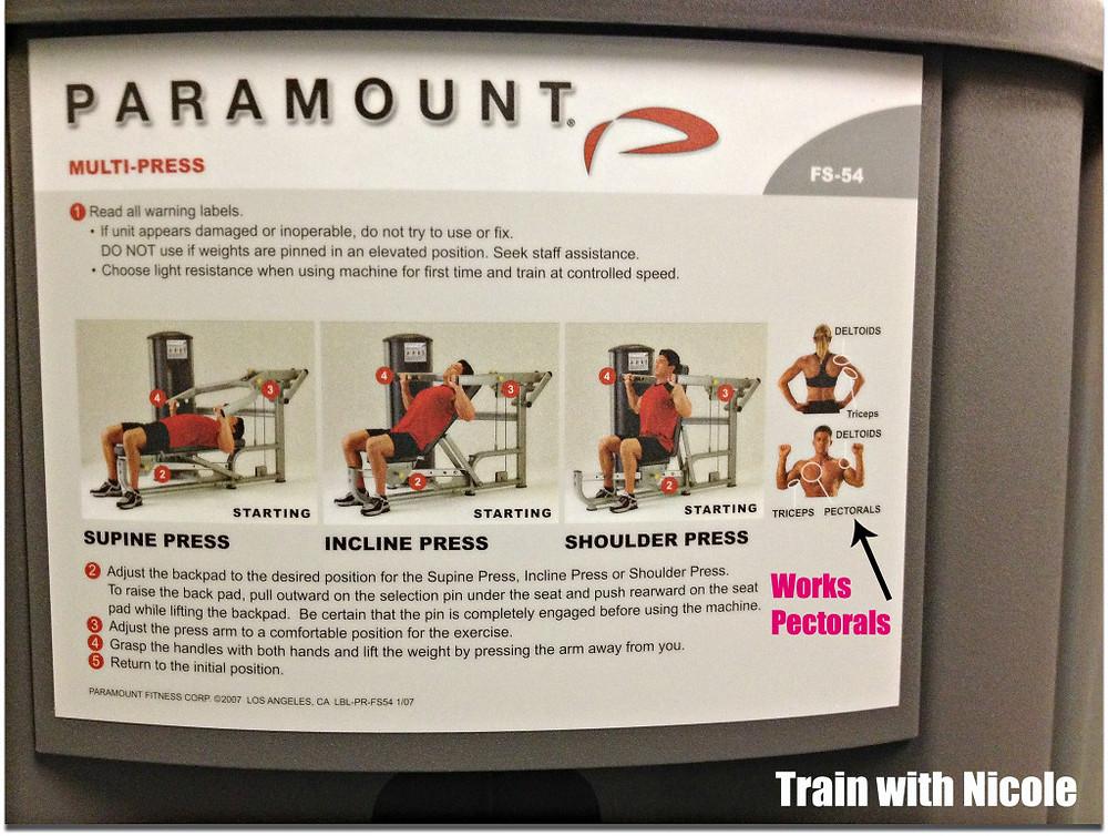 Chest Press Pectoral - trainwithnicole.net