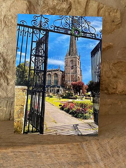 Tetbury Church greetings card