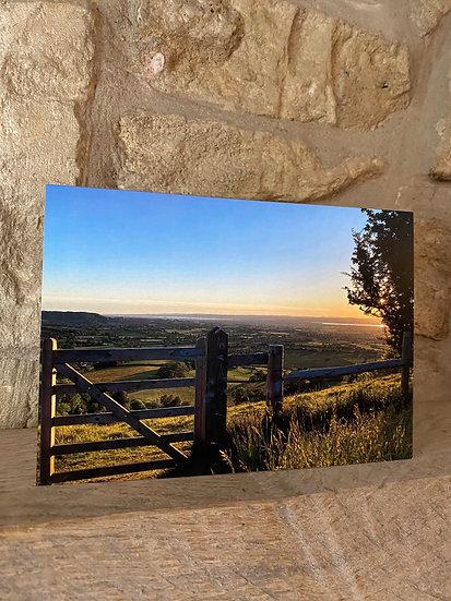 Sunset - Coaley Peak