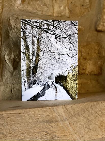 Quiet Lane in the snow - Burleigh