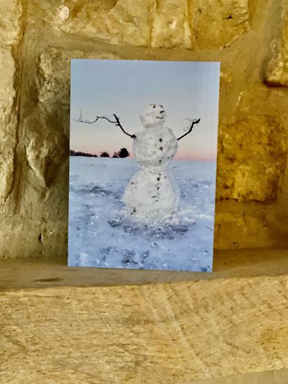 Snowman - Minchinhampton Common