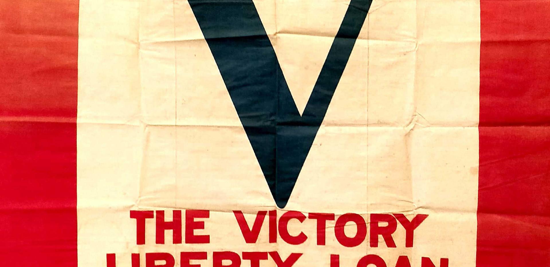 Victory Liberty Loan Flag