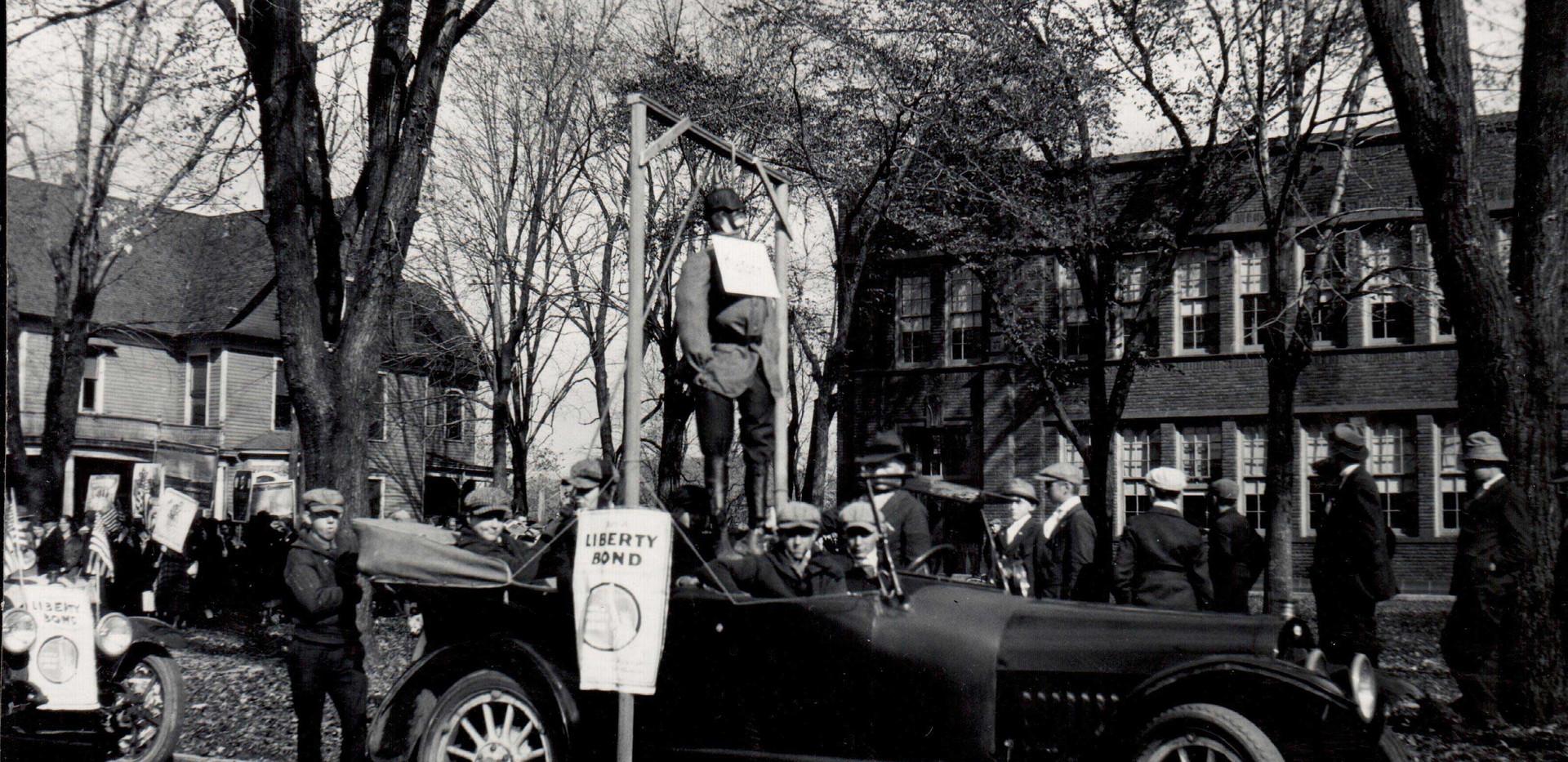 Liberty Bonds Parade Float
