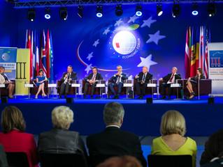 Mecenas Wiesława Borczyk na XXVI Forum Ekonomicznym w Krynicy