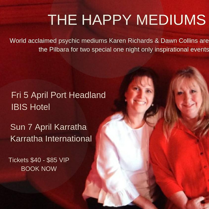 The Happy Mediums Port Headland