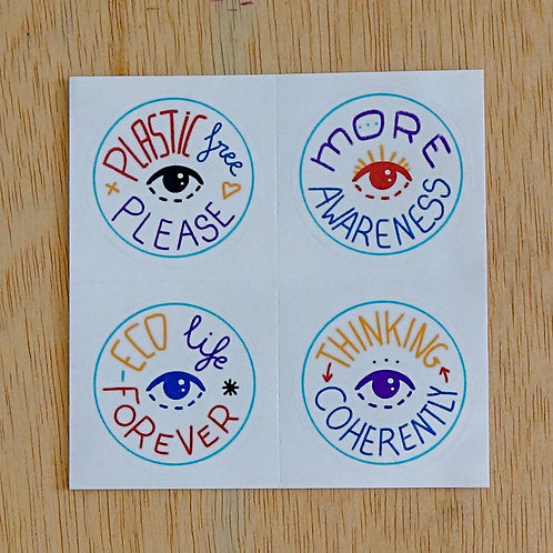 Stickers ECOnciousness
