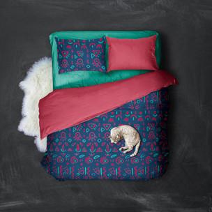 Sonia Sanmartín Pattern Mockup Ropa de cama Textil